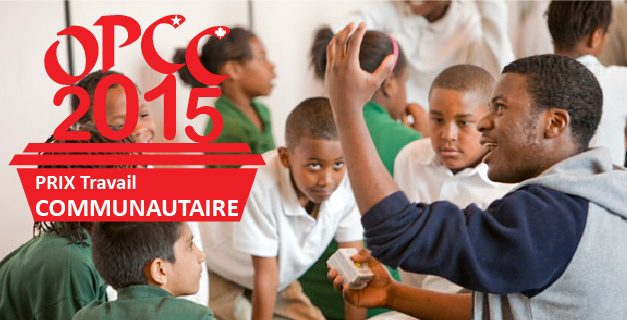 Prix Travail Communautaire – 2015