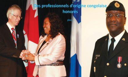 DES PROFESSIONNELS D'ORIGINE CONGOLAISE HONORÉS