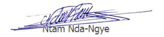 signature Ntam-Nda-Ngye