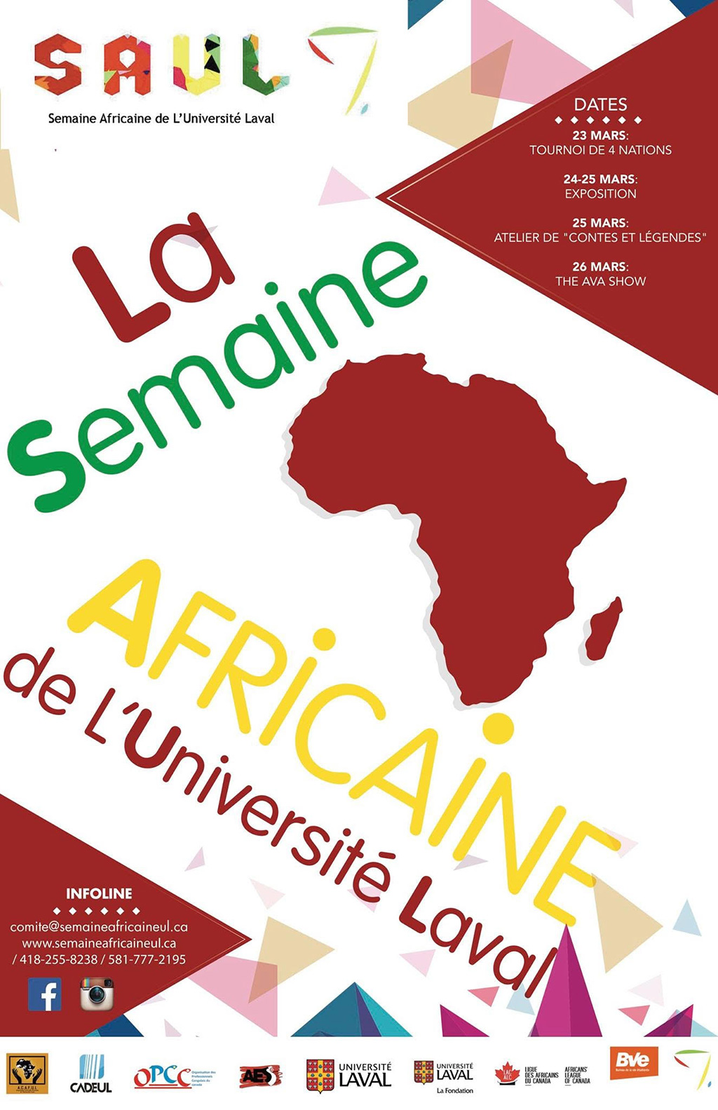 Semaine Africaine Université Laval