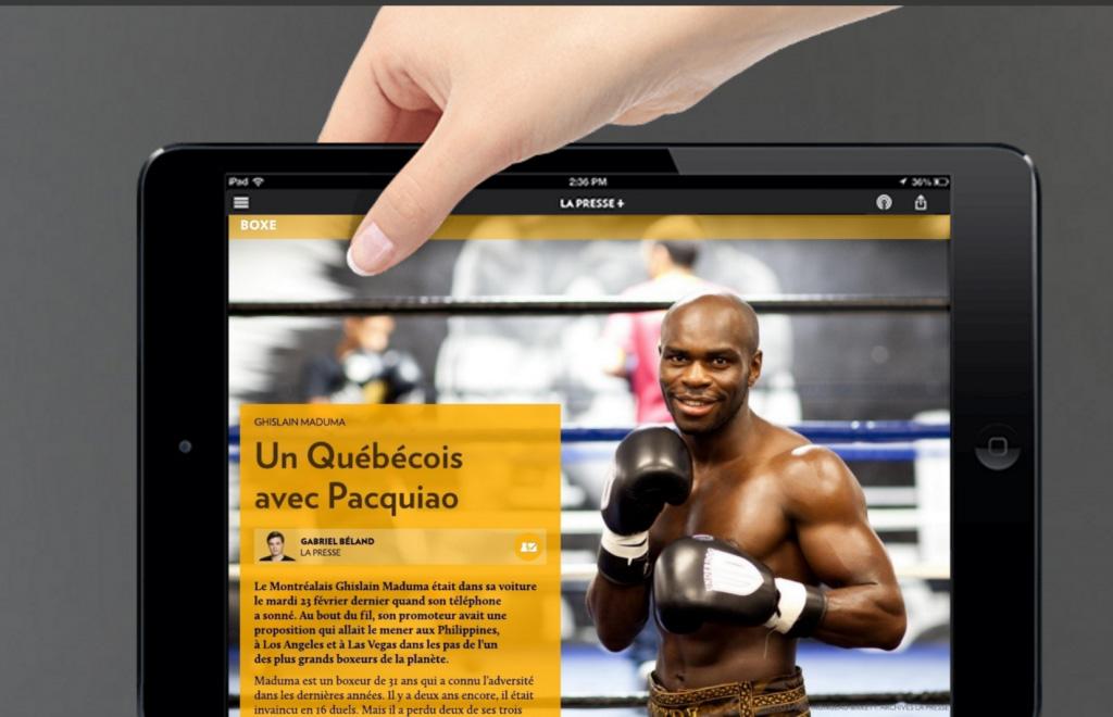 boxeur Ghislain Maduma