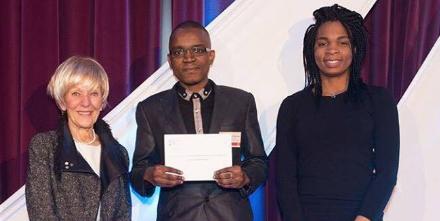 L'Association Étudiante des  Congolais de Polytechnique (AECP) à la cérémonie annuelle de remise de bourses de Polytechnique Montréal