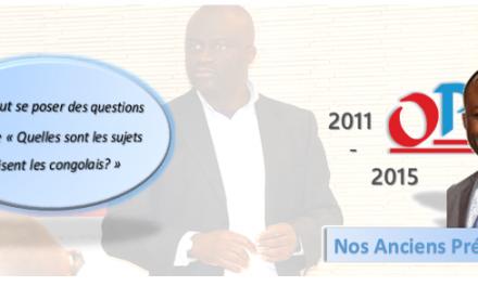 Ancien Président OPCC: Franck Katata: «La place on se la fait, personne ne nous la donne»