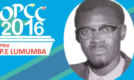 Prix d'Excellence «P.-E. Lumumba» – 2016