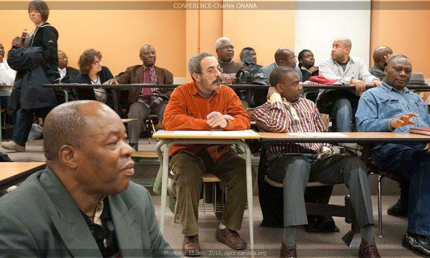 Conférence Charles Onana 2012