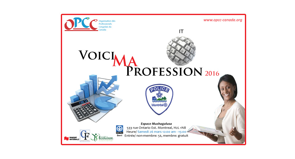 Voici ma profession 2016