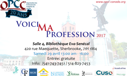 Voici Ma Profession 2017 à Sherbrooke