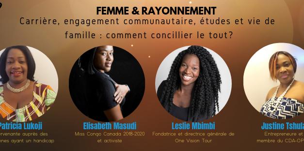 Femme & rayonnement 2019