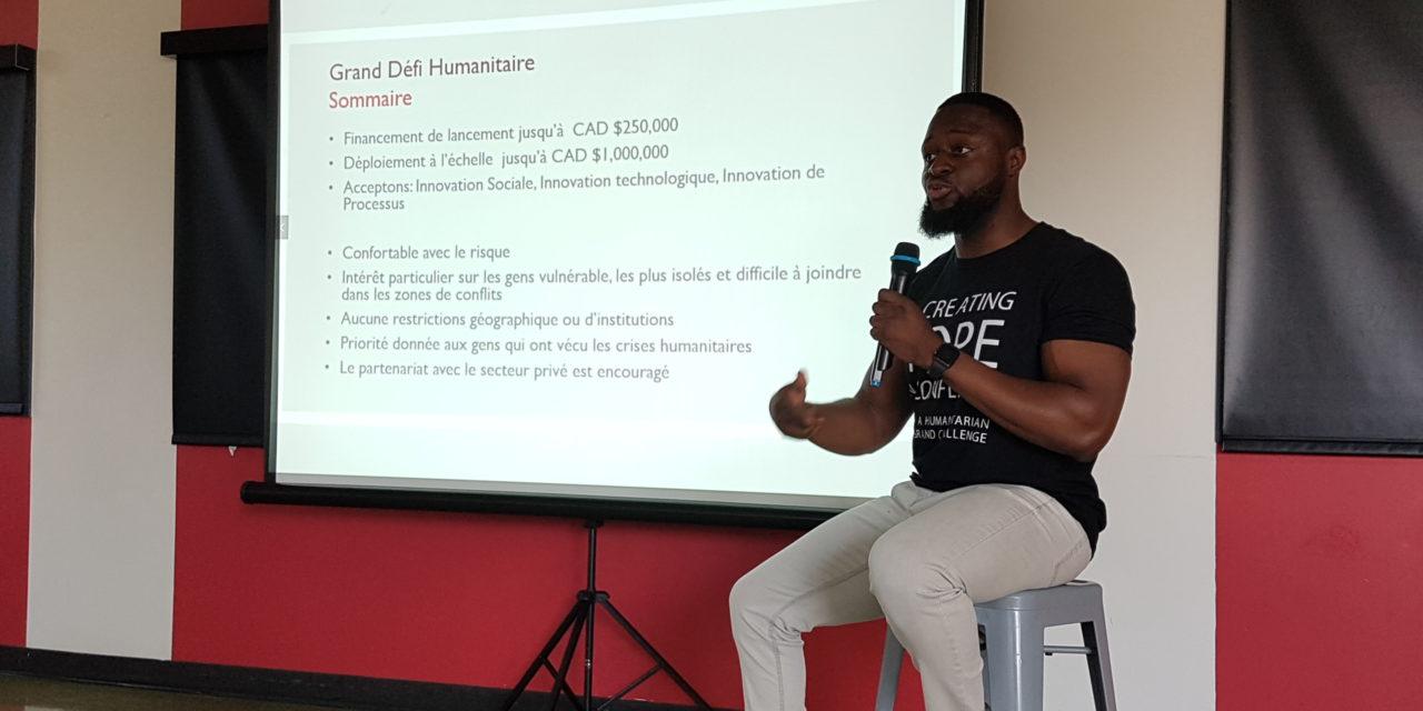 JUSQU'À UN MILLION DE DOLLARS POUR VOS PROJETS EN RDC